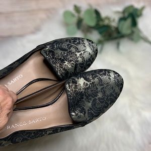 Franco Sarto brocade loafers